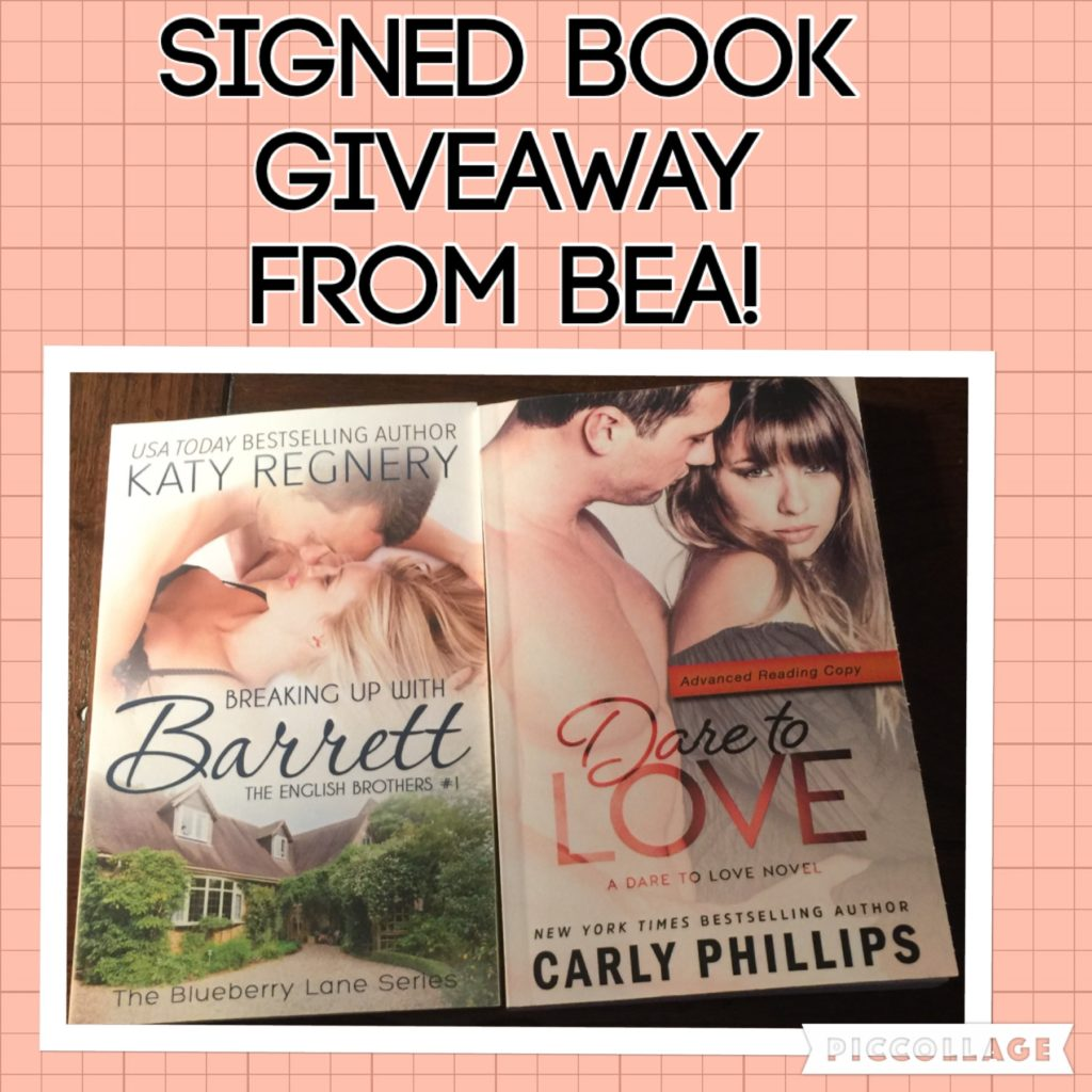 Signed Book Giveaway!