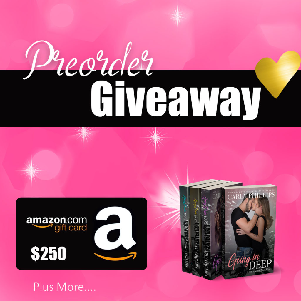 Going in Deep – Preorder Contest