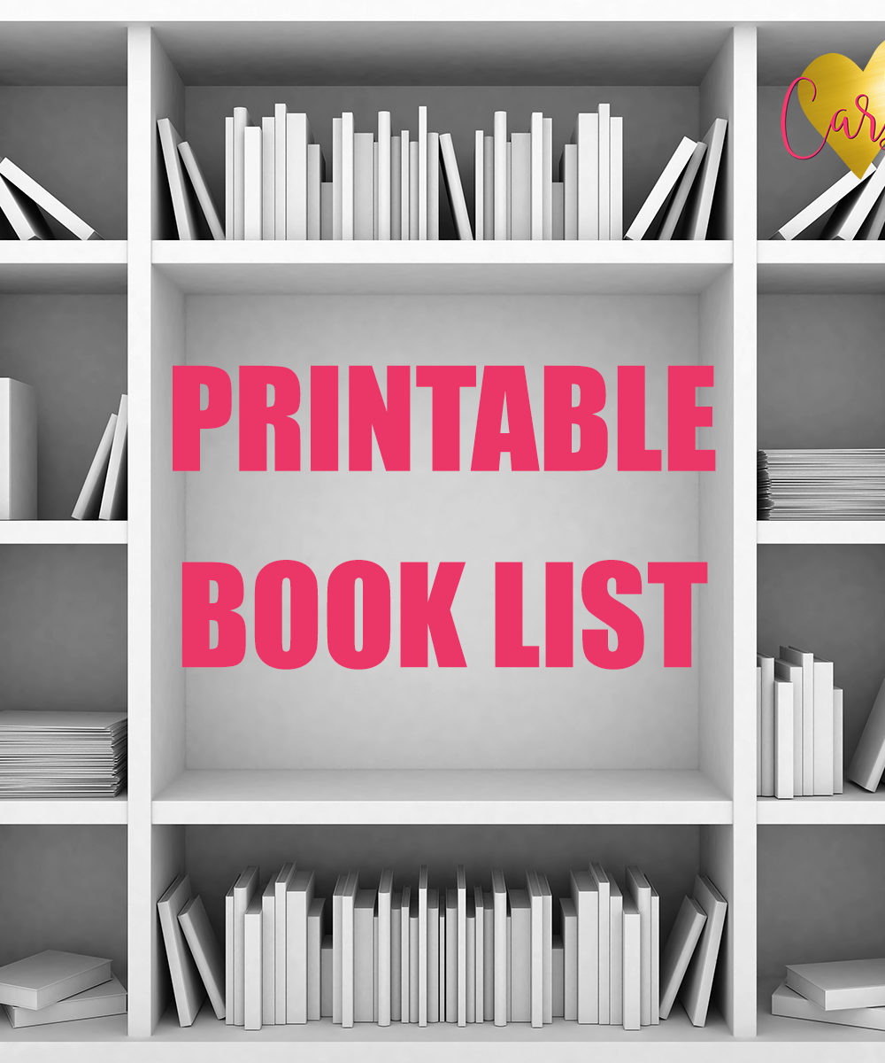 Updated Printable Reading List!