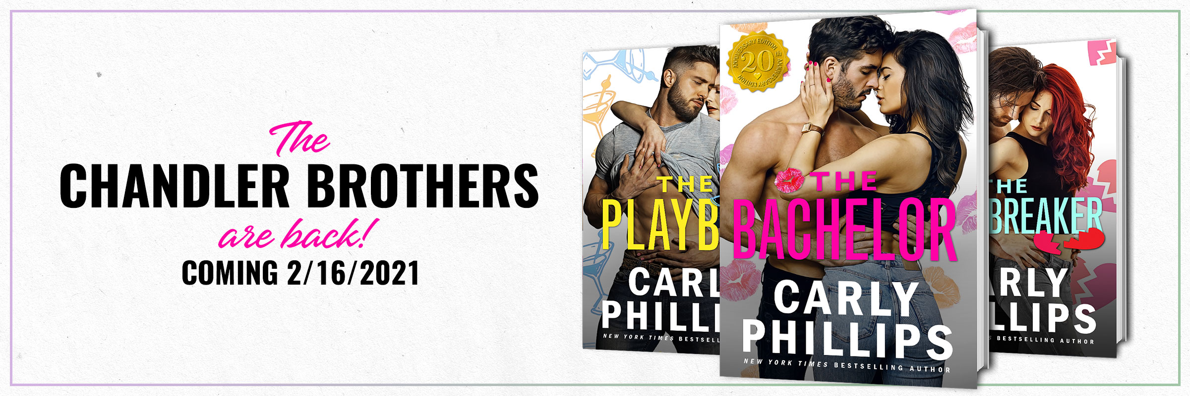 The Chandler Brothers by Carly Phillips
